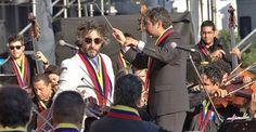 Fito Páez alabó a la Orquesta Sinfónica Simón Bolívar de Venezuela