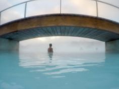 It was freezing. I ran on my tiptoes in my swimsuit from inside the building to the ramp to enter the Blue Lagoon. I felt instant relief as soon as I lowered my body into the steamy mineral water. It was so misty and dreamlike. There we were in a pool of hot water as the snow fell from the clouds onto our mud-masked faces. Heaven on earth? Just maybe.