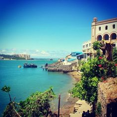 Mombasa Port, Kenya || Add in 482029 people trying to sell me wooden elephants, and this is where I was a year ago. Missing it a little.