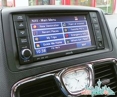 Navigation Features Overview   Chrysler Town And Country Minivan: Seattle  To Seal Rock OR