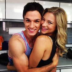 Allie Gonino and Christian Alexander The Lying Game look at that bicep! Pretty People, Beautiful People, The Lying Game, Abc Shows, Cutest Couple Ever, Abc Family, Music Tv, Celebs, Celebrities