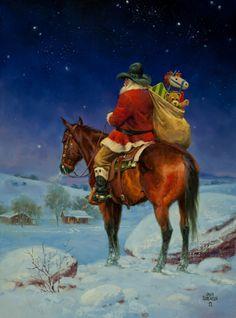 """Cowboy Christmas Eve""  by Jack Sorenson"