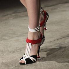 WEBSTA @ prada - Focus on shoes at Prada Spring/Summer 2016 Women's Show.Watch the full video on www.prada.com#PRADASS16