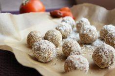 No bake Gluten Free Persimmon Snowballs