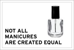 Not all manicures are created equal. Consider what's being rubbed on your hands, painted on to your nails, and inhaled by you and the esthetician. Manicures, You Nailed It, Equality, Hands, Create, Nail Salons, Social Equality, Polish, Nail Manicure