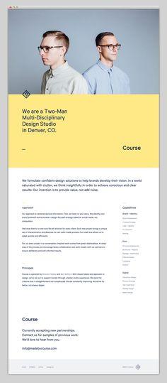 Course Design Studio Website