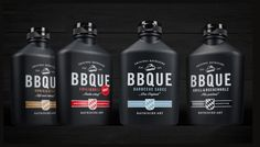 #Packaging inspiration   #869 BBQUE Bayrische Barbecue #Sauce by etcorporate