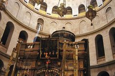 This Church is where Orthodox and Catholic Christians mark Jesus' crucifixion and burial.
