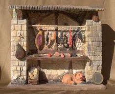 Resultado de imagen de embutidos%2Bbelenes Mud House, Decoration, Concept, Toys, Inspiration, Nativity Scenes, Tudor, Home Decor, Christmas Decor