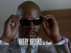 Superbad Hawk   Avery Brooks  Spenser For Hire  with wonderful Robert Ulrich...this was a great show and HAWK was a great character