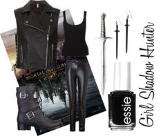 """Girl Shadow Hunter"" by buknerd on Polyvore"