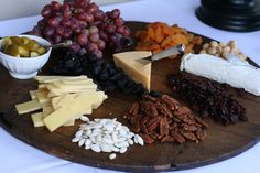 Think of cheeses when serving our 2010 Sagemoor Cab — Brie, Gorgonzola, Gruyere, Camembert, Manchego and Cougar Gold with glazed pecans, dried blueberries, cherries, figs and buttered toast. Sit back and enjoy with your friends. Dried Blueberries, Dried Cherries, Dried Fruit, Dried Apricots, Hanukkah Food, Hanukkah Recipes, Hannukah, Tapas, Appetizer Recipes