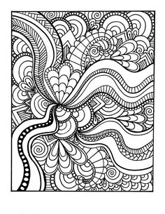 Adult Coloring Book- Volume 1- Printable