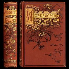 A Turn of the Century Decorative Cloth Publisher Bindings: Wordsworth | IsFive Books