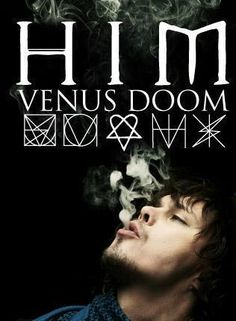 His Infernal Majesty Ville Hermanni Valo HIM group Gothic rock