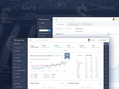 """Check out this @Behance project: """"Stock Analysis Web App"""" https://www.behance.net/gallery/32412199/Stock-Analysis-Web-App"""