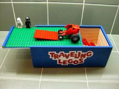 Traveling Lego Box - easy DIY tutorial, two different ways