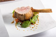 Carrè di vitello con peperoncini verdi e salsa alla pizzaiola | L'Olivo Restaurant - Two Michelin Stars | Anacapri, Italy