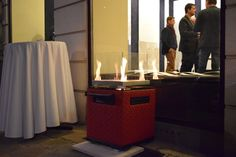 Pelmondo Fire Cube Modern, Cube, Canning, History, Outdoor, Environment, Fire, Ad Home, Outdoors