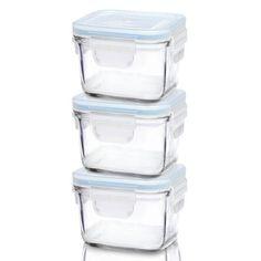 Classic 0.21L Square Glass Food Container Glasslock 185f4de7989a2