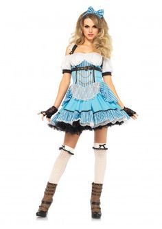 Leg Avenue Womenu0027s 3 Piece Rebel Alice Costume Blue/White Small *** Check this awesome product by going to the link at the image.  sc 1 st  Pinterest & The 9 best Fairy Tale Costumes images on Pinterest | Fairy tale ...