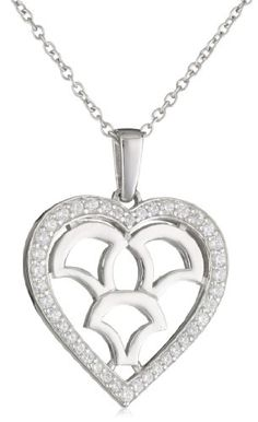Myia Passiello %22Iconic%22 Heart Shape Pendant Necklace