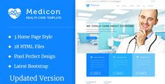 Medicon v1.2.0 - Health and Medical HTML Template  -  http://themekeeper.com/item/site-templates/medicon-medical-html-template