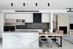 As an Interior Stylist some of the best kitchens I get to work with all have one thing in common – they use a mix of materials and textures…