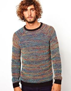 Image 1 of ASOS Twisted Yarn Jumper