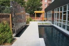 Nice fish pool with a nice fence!  #retirement #calm #landscapearchitecture