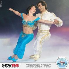 #aladdin and #jasmine #skating in #love. @disneyonice and @showtime_sa have brought #magic into #reality. #ticketprodome #johannesburg #durban #capetown #southafrica #ice #skate #princess #instapic #instacool #instadaily #theatre #merchandise #kids #children http://misstagram.com/ipost/1553051364484114091/?code=BWNi_zSAuar