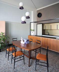 Проект History Repeating: интерьеры квартиры в Турине от Андреа Марканте и Аделаиду Тесту | Admagazine | AD Magazine