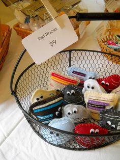 Sell:    Kids.. pet rocks , cute