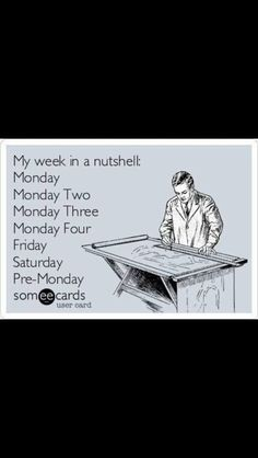 eeCard My week in a nutshell