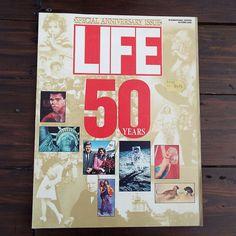 Vintage 1986 Life Magazine Special Anniversary Issue 50 Years International Edition Marilyn Monroe Elvis by VintageBlackCatz on Etsy