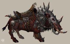 Оркские ездовые животные