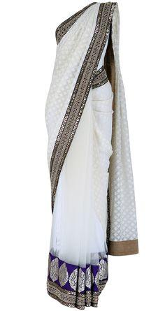 Sabyasachi White sari, $600
