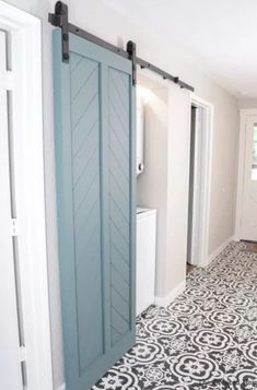 550 pull change the bifold closets to these DIY Double barn doors DIY Barn Door Using an Interior Door DIY Barn Door Using an Interior Door 550 pull change the bifold closets to these DIY Double barn doors Door Design, Diy Interior Doors, Barn, Doors Interior, Door Inspiration, Barn Doors Sliding