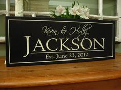 Wedding Plaque Bridal Shower gift Carved 8 x Picture Wall, Personalized Family Name Sign Wedding Gift Unique Wedding Gifts, Personalized Wedding Gifts, Personalized Signs, Wedding Plaques, Wedding Signs, Wedding Ideas, Wedding 2015, Wedding Wishes, Wedding Decor