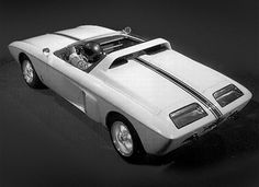 The Ford Mustang 1 prototype was rear engined and very light. It is a clear view into the future of small sports cars.