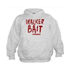 The Walking Dead Walker Bait Kids Hoodie