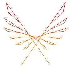 colorful phoenix design - Google Search