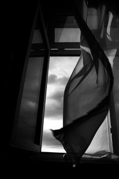 ☾ Midnight Dreams ☽ dreamy dramatic black and white photography - breeze