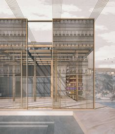 Architectural Drawings Joanne Chen designs factory for London artisans based on the teachings of William Morris - Collage Architecture, Bartlett School Of Architecture, Architecture Visualization, Architecture Student, Architecture Drawings, Beautiful Architecture, Modern Architecture, Factory Architecture, Rendering Architecture