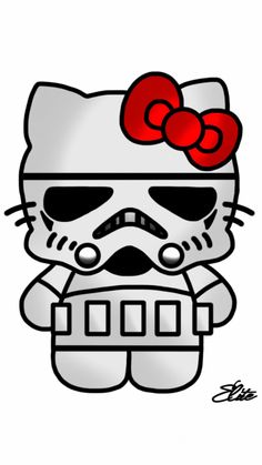 Stormtrooper Hello Kitty Car Window Wall Macbook Notebook Laptop Sticker Decal: Decals is Size: x If the decal size needs to be adjusted please contact us. Hello Kitty Characters, Sanrio Characters, Hello Kitty Backgrounds, Hello Kitty Wallpaper, Cat Stickers, Laptop Stickers, Hello Kitty Car, Hello Kitty Imagenes, Star Wars Shoes