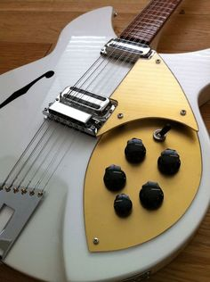 I'd own a Rickenbacker if I could own THIS Rickenbacker.