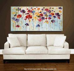 original pintura pintura abstracta pintura de paisaje de jolina anthony rápida y envío gratuito