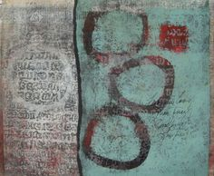 Agreeing to Differ monotype by Anne Moore