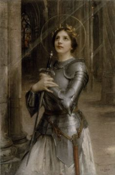 Joan of Arc by Charles-Amable Lenoir