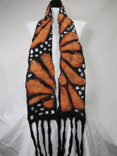 Nature Inspired Scarf  Custom Made for you by free2bemefelt, $70.00